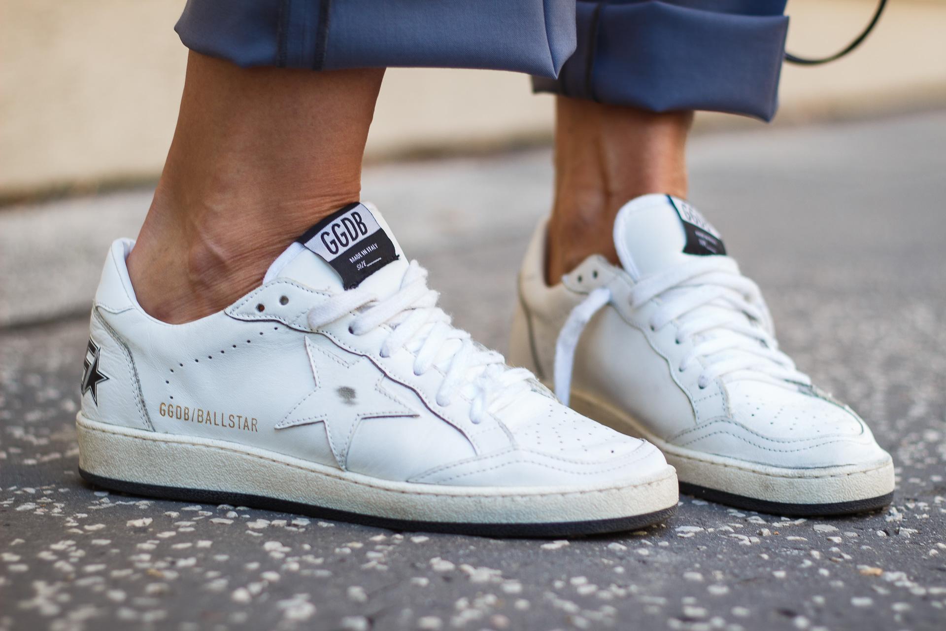 Golden Goose Deluxe Brand White Star Sneakers