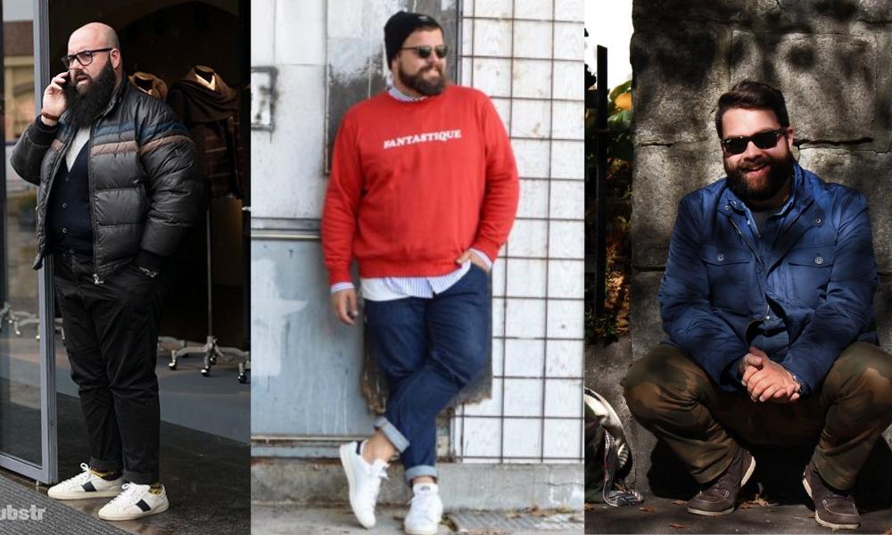 Oblečenie pre plnoštíhlych mužov