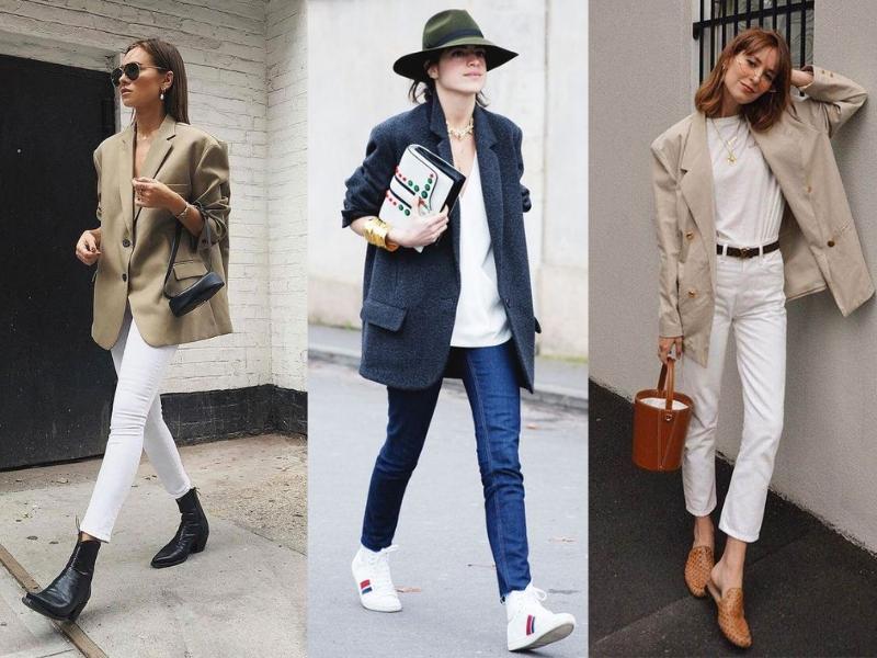 Pánske sako s úzkymi jeansami