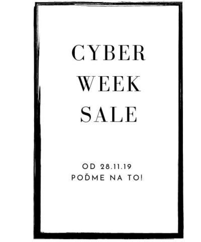 Cyber week výpredaje