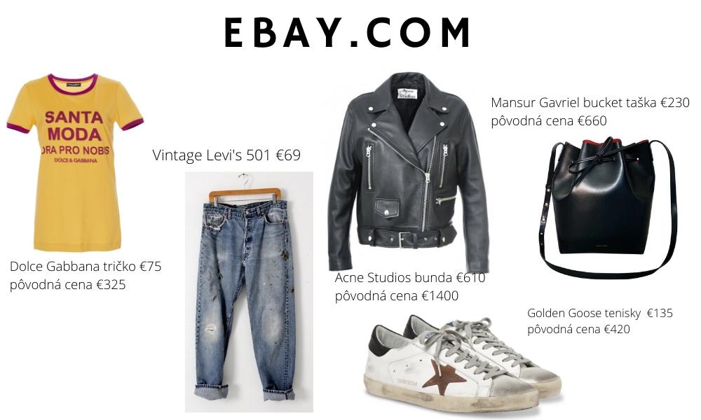 Recyklovná móda z ebay